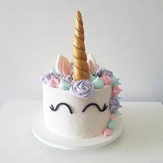 kindergeburtstag ideen einhorn torte selber machen