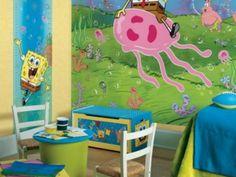 Gambar Ide Dekorasi Kamar Anak Bertema SpongeBob Terbaru » Gambar 300