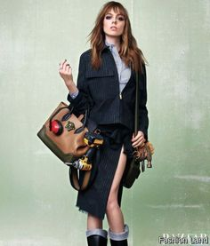 Under Construction: Carine Roitfeld Takes on the Suit Jacket for BAZAAR Style – Fashion Land