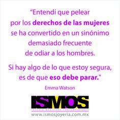 Emma Watson hablando sobre feminismo // ISMOS Joyería