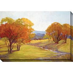 Gallery Direct Kim Coulter 'Autumn Day I' Oversized Canvas Art | Overstock.com Shopping - The Best Deals on Gallery Wrapped Canvas
