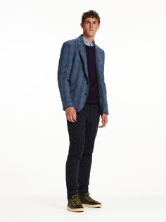 Zip-Up Blazer | Inbetween jackets | Men Clothing at Scotch & Soda