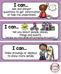 Kindergarten Lesson Plans, Homeschool Kindergarten, Kindergarten Literacy, Preschool Classroom, Core I, Writing Anchor Charts, I Can Statements, Kids Library, Common Core Ela