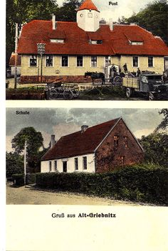 Alt-Griebnitz Grzybnica Kreis Köslin 1926