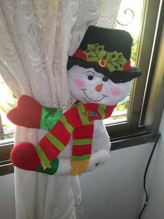 Christmas Projects, Christmas Stockings, Sewing Crafts, Elf, Projects To Try, Holiday Decor, Home Decor, Ideas Para, Curtains