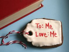 12 Organic Gingerbread Gift Tags with Edible Writing, $48