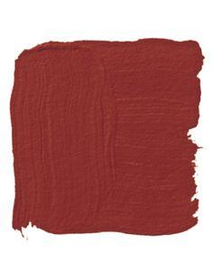 """""""Sangria is good, universal-donor red — not too blue, not too orange, not too dark."""" Benjamin Moore's Sangria 2006-20"""