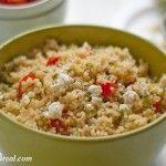 Lemon Dill Quinoa Salad Recipe