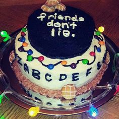 Stranger Things Birthday Cake