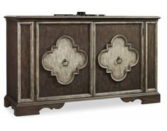 68 inch Two Door Console | Hooker Furniture | California Furniture Galleries | Hooker Furniture – Sam Moore – Bradington Young – Seven Seas