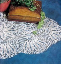 Para el hogar en diferentes formas y diseños en tècnica a crochet y dos agujas