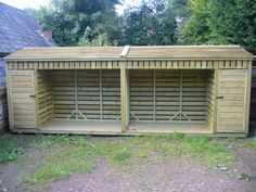 Log Stores - Devon We can make a variety of log stores varying in sizes and designs to suit your requirments. Options we can include are kindling stores