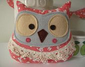 would make an excellent baby gift along with coordinating fabric crib quilt
