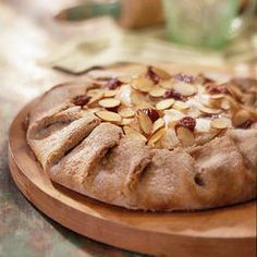 Heart-Healthy Dessert Recipes - Leaving the peel on the pears helps boost the fiber and vitamins in this homey tart.