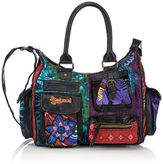 Desigual London Medium Diverdel Woman Woven Across Cross Body on shopstyle.com.au