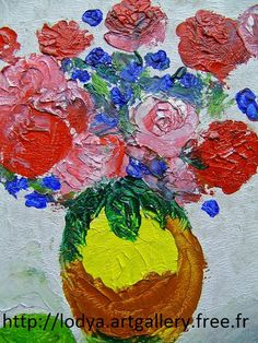 FEBRUARY 8TH 2014 - OIL PAINTINGS WITH KNIFE
