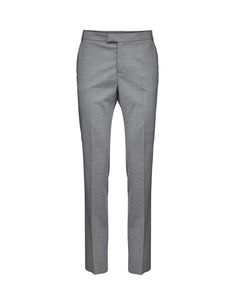 Macie trousers - Women's trousers in wool-stretch. Features two back paspoil pockets, two front pockets and cutlines at back. Regular waist with straight leg. For a complete suit look wear it with Olita blazer Trousers Women, Women's Trousers, Pants, Tiger Of Sweden, Legs, How To Wear, Suit, Pockets, Wool