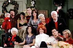 Days of Our Lives Horton Family Christmas...in the 00s.