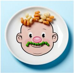 Food face dinner plate from Hey Yo Yo $12.50  sc 1 st  Pinterest & Play with your food! Face Plates | Gifts for Geeks | Pinterest | Geeks