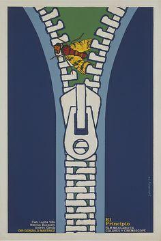 El Principio // Artist: Julioeloy // 1974 50,8x76,4 cm // Cuban Posters