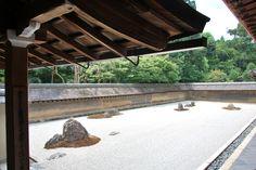 Kyoto Ryoanji Zen Garden