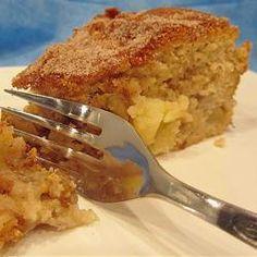 Pastel de canela y manzana @ allrecipes.com.mx