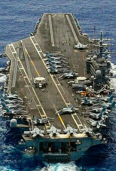 Us Navy Aircraft, Navy Aircraft Carrier, Military Aircraft, Air Fighter, Fighter Jets, Biggest Cruise Ship, Uss Ronald Reagan, Navy Carriers, Capital Ship