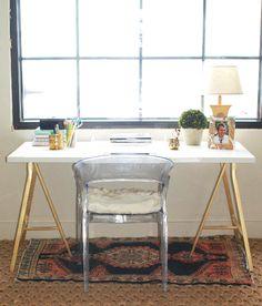 WHITE + GOLD: IKEA HACK UPDATE - LITTLE GREEN NOTEBOOK FEATURE