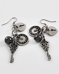 Just in Time Earrings $12 from https://www.facebook.com/pages/GNO-Jewelry/154540077984705?ref=hl