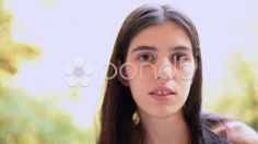 speaking brunette young adult woman closeup portrait. - Stock Footage | by ionescu #selfie #rateme #beauty #stockfootage #pond5 #woman #brunette