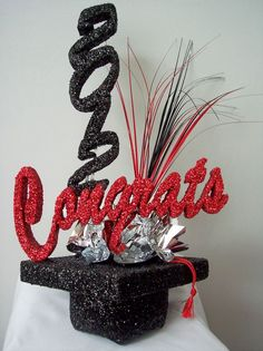 Graduation Party Centerpieces And How To Use One  College Graduation Decoration Ideas. graduation party centerpieces diygraduation party centerpieces ... & 25 DIY Graduation Party Decoration Ideas | Pinterest | Girl ...