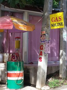 Gas station - Koh Samui