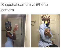 And its the opposite for android, damn it snapchat I'm tired of pixilated photos