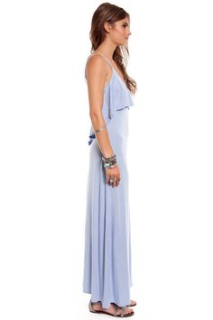 Modal Citizen Maxi Dress. $42. love this dusty pale blueeee and it looks incredibly comfortable.