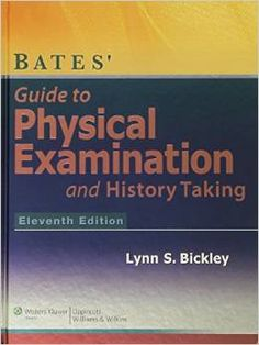 Book of the Day: Bates' Guide to Physical Examination and History-Taking: http://www.amazon.com/gp/product/1609137620/ref=as_li_qf_sp_asin_il_tl?ie=UTF8&camp=1789&creative=9325&creativeASIN=1609137620&linkCode=as2&tag=themedblo-20&linkId=FG7IEXIIZ4L2OARC