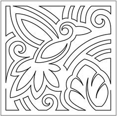 Image result for block quilting pantograph