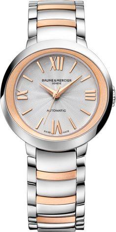Baume et Mercier Watch Promesse #add-content #bezel-fixed #bracelet-strap-gold #brand-baume-et-mercier #case-depth-9-8mm #case-material-steel #case-width-30mm #delivery-timescale-call-us #dial-colour-silver #gender-ladies #luxury #movement-automatic #official-stockist-for-baume-et-mercier-watches #packaging-baume-et-mercier-watch-packaging #style-dress #subcat-promesse #supplier-model-no-m0a10183 #warranty-baume-et-mercier-official-2-year-guarantee #water-resistant-50m