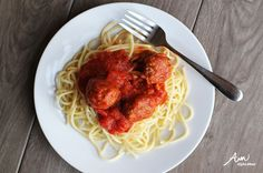 Recipe for how to make spaghetti and meatballs, a great meal all kids should know how to make before leaving home!