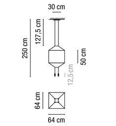 Wireflow de #Vibia. Lámpara de techo que revisa y actualiza la estética de las lámparas de araña a través de un ejercicio de simplificación que explora su esencia y realza su contorno con gran delicadeza y al mismo tiempo fuerte presencia formal. Diseño de Arik Levy.