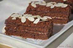 Prajitura cu crema de cacao | Retete culinare cu Laura Sava My Recipes, Favorite Recipes, Cakes And More, Coffee Cake, Caramel, Food And Drink, Sweets, Desserts, Hummingbird