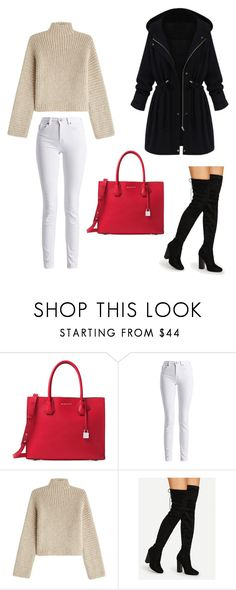 """""""Untitled #27"""" by nejazimic on Polyvore featuring Michael Kors, Barbour International, Rosetta Getty and WithChic"""