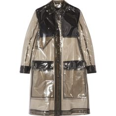 Belstaff Grayson PVC raincoat (1.145 BRL) ❤ liked on Polyvore featuring outerwear, coats, jackets, black, coats & jackets, belstaff coat, pvc rain coat, mac coat, belstaff and pvc raincoat