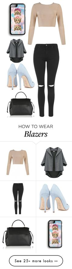 """""""Untitled #11689"""" by aavagian on Polyvore featuring Samsung, Topshop, Dee Keller and Lanvin"""