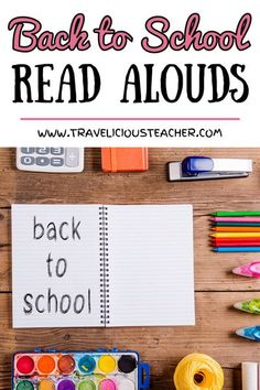 Back to School Books | Travelicious Teacher | Need some new books for back to school season? I'm sharing 14 of my favorite read alouds your students will love! Click to check them out. #BackToSchool #ReadAlouds