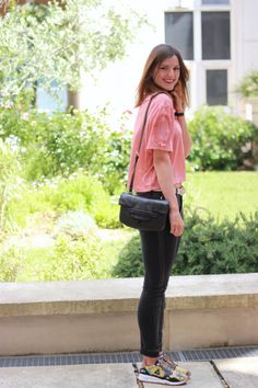 A special shoutout to Anais from Montpellier who took the .Kate Lee LISIA style in black !   #katelee #leather #bag @lestribdanais