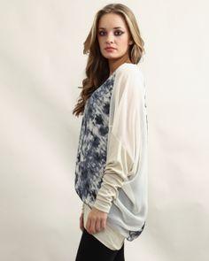 a10887f760c2ff Tie Dye Tunic Beige - £60.00 : Yuki Tokyo, Online Fashion Store Online  Fashion