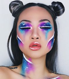 Halloween Trend: Galaxy Make-up