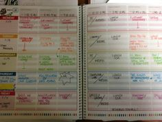 the teacher planner in action... thanks for sharing paige!