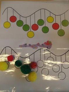 Peuterklas - Juf Evelien: Op naar kerst Preschool Christmas Crafts, Christmas Activities, Winter Activities, Xmas Crafts, Christmas Themes, Preschool Activities, Diy And Crafts, Christmas Decorations, Holi Games