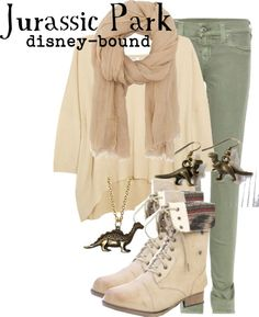 """""""Jurassic Park"""" by disney-bound ❤ liked on Polyvore"""